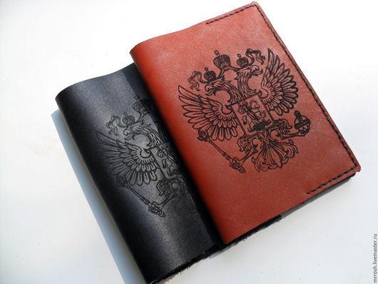 Для телефонов ручной работы. Ярмарка Мастеров - ручная работа. Купить Обложка на паспорт. Handmade. Коричневый, обложка на паспорт