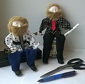 Stuffed Toys handmade. Livemaster - original item Cabinet - Keeper office. Handmade.