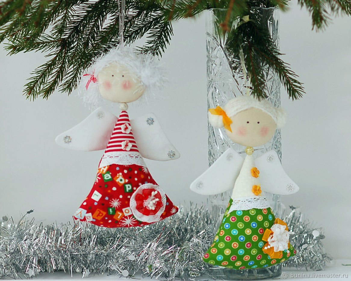 Christmas angels Christmas – shop online on Livemaster with shipping ...
