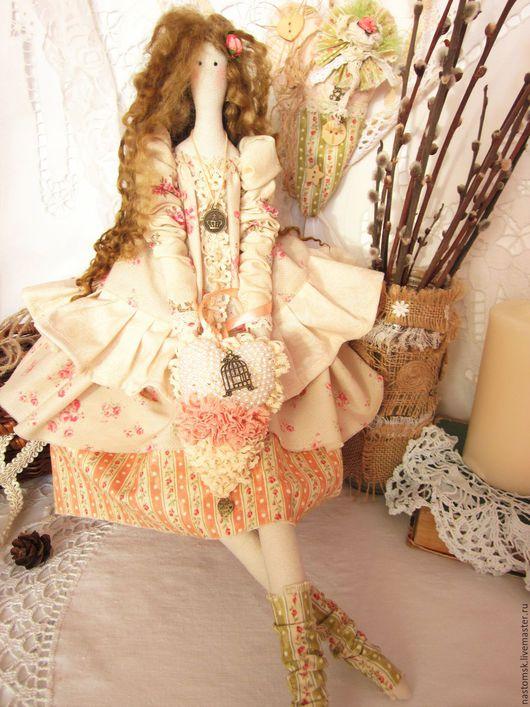 """Куклы Тильды ручной работы. Ярмарка Мастеров - ручная работа. Купить Кукла текстильная интерьерная в стиле Тильда """"Софи"""". Handmade."""