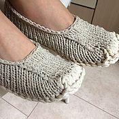 Обувь ручной работы handmade. Livemaster - original item Home Slippers for children. Handmade.