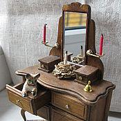 Куклы и игрушки ручной работы. Ярмарка Мастеров - ручная работа Трюмо с зеркалом. Handmade.