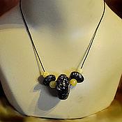 Necklace handmade. Livemaster - original item Amber. Necklace