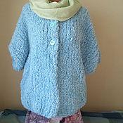 """Одежда ручной работы. Ярмарка Мастеров - ручная работа Жакет с рукавами """"Летучая мышь"""". Handmade."""