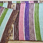 Для дома и интерьера ручной работы. Ярмарка Мастеров - ручная работа Домотканый половик, длинный (№ 210). Handmade.
