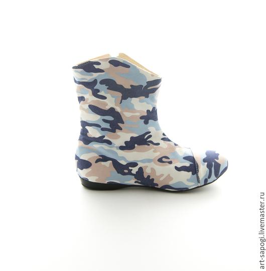 Обувь ручной работы. Ярмарка Мастеров - ручная работа. Купить Летние полусапоги 3-219 (ВЧ). Handmade. Летние сапоги