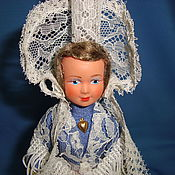 Винтаж handmade. Livemaster - original item Collectible doll France celluloid 1950e. Handmade.