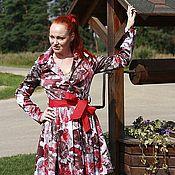 Одежда ручной работы. Ярмарка Мастеров - ручная работа Плащ - платье. Handmade.