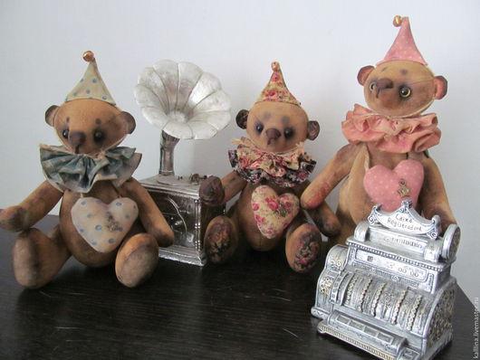 Ароматизированные куклы ручной работы. Ярмарка Мастеров - ручная работа. Купить Винтажный мишка-тедди с добрым и любящим сердцем.. Handmade.