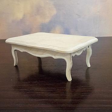 Dolls & toys handmade. Livemaster - original item Furniture for dolls - table Assol 0226. Handmade.