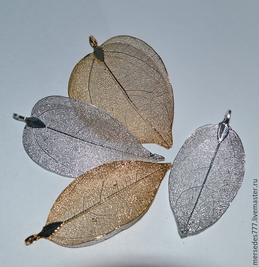 Для украшений ручной работы. Ярмарка Мастеров - ручная работа. Купить Листья (в ассортименте). Handmade. Разноцветный, материалы для ук
