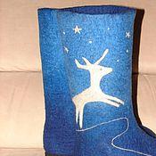 Обувь ручной работы. Ярмарка Мастеров - ручная работа Северный олень. Handmade.