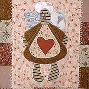 Для дома и интерьера ручной работы. Ярмарка Мастеров - ручная работа Плед  или покрывало с фотами и ангелочками. Handmade.