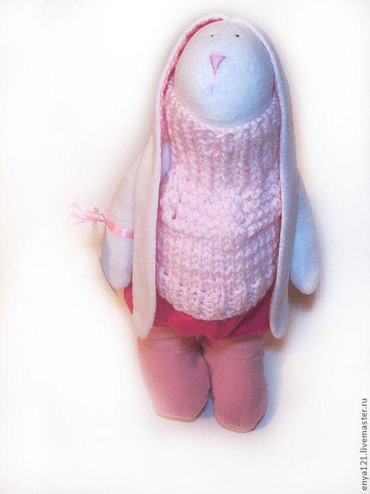 Куклы Тильды ручной работы. Ярмарка Мастеров - ручная работа. Купить Алисия. Handmade. Розовый, зайка тильда, интерьерная игрушка