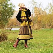 Одежда ручной работы. Ярмарка Мастеров - ручная работа Юбка-бохо из полушерсти. Handmade.