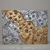 Картины и панно ручной работы. Ярмарка Мастеров - ручная работа Река жизни-символ богатства. Картина. Handmade.