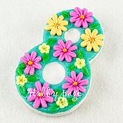 Материалы для творчества handmade. Livemaster - original item Silicone mold for soap, March 8 floral. Handmade.