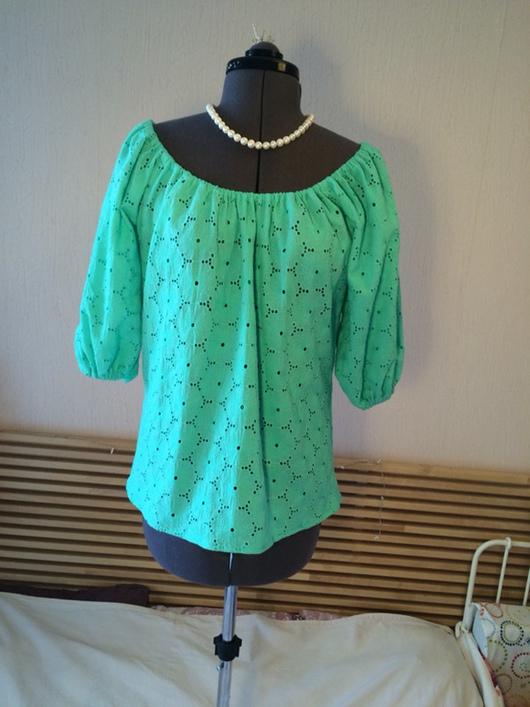 Крой блузки из шитья