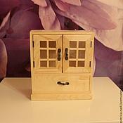 Материалы для творчества ручной работы. Ярмарка Мастеров - ручная работа мини комодик (шкафчик). Handmade.