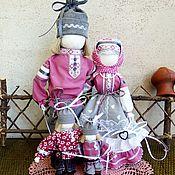 Народная кукла ручной работы. Ярмарка Мастеров - ручная работа Семья - народный оберег для семьи. Handmade.
