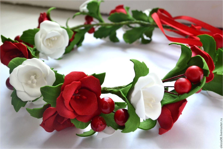 Цветы с красно белыми цветами фото