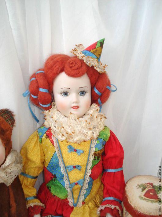 Коллекционные куклы ручной работы. Ярмарка Мастеров - ручная работа. Купить Арлетта. Handmade. Кукла, подарок на новый год, кружево