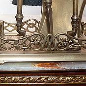 Винтаж ручной работы. Ярмарка Мастеров - ручная работа Каминный набор Феррари пять предметов для Вашего камина. Handmade.