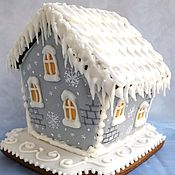 Сувениры и подарки handmade. Livemaster - original item Gingerbread house mini Christmas cakes. Handmade.