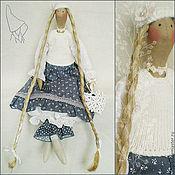 Куклы и игрушки ручной работы. Ярмарка Мастеров - ручная работа Марит, кукла Тильда в бохо стиле. Handmade.