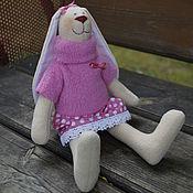 Куклы и игрушки ручной работы. Ярмарка Мастеров - ручная работа зайка Марья. Handmade.