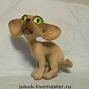 """Куклы и игрушки ручной работы. Ярмарка Мастеров - ручная работа кот """"Сфинкс"""". Handmade."""