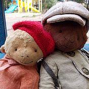 Куклы и игрушки ручной работы. Ярмарка Мастеров - ручная работа Бонни и Клайд. Handmade.