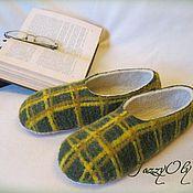 Обувь ручной работы. Ярмарка Мастеров - ручная работа Мужские тапочки. Handmade.
