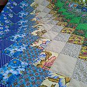 Для дома и интерьера ручной работы. Ярмарка Мастеров - ручная работа Лоскутное одеяло Опушка. Handmade.