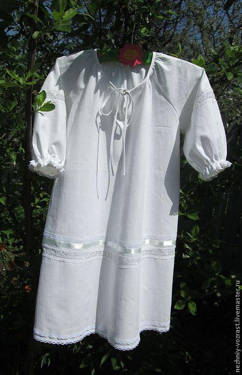 Крестильные принадлежности ручной работы. Ярмарка Мастеров - ручная работа. Купить Крестильная рубашка. Handmade. Белый, крестильный комплект, крестильное