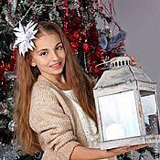 Подарки к праздникам ручной работы. Ярмарка Мастеров - ручная работа Ободок Новогодние мечты. Handmade.