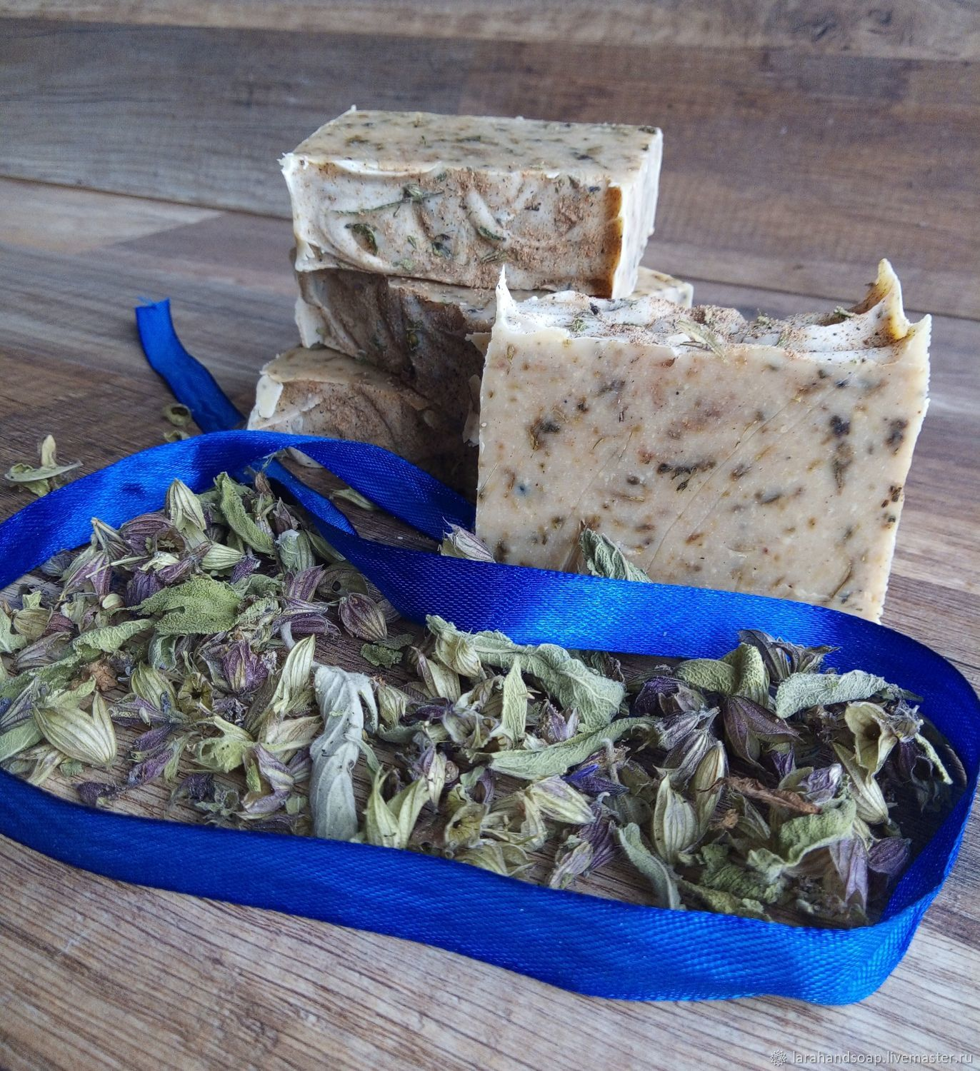 Natural soap from scratch Clary Sage, Soap, Neman,  Фото №1