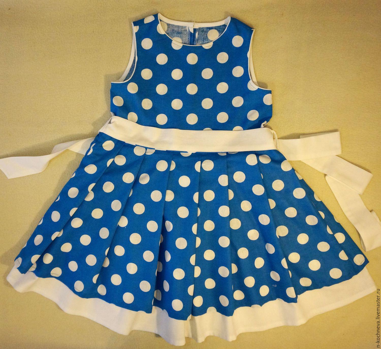 Платье для девочки сшить своими руками: летнее, без выкройки 40