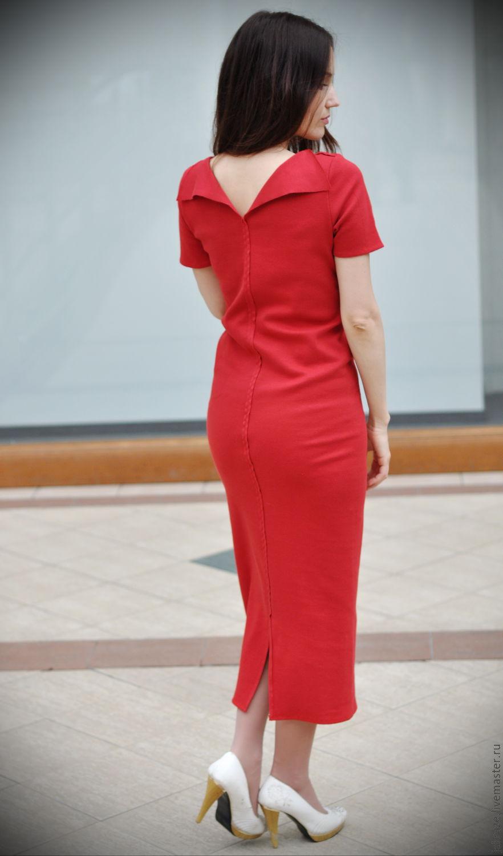 9d347d4b9b1 Платья ручной работы. Ярмарка Мастеров - ручная работа. Купить Красное  платье