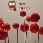 Owl-charm - Ярмарка Мастеров - ручная работа, handmade