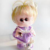 Куклы и игрушки ручной работы. Ярмарка Мастеров - ручная работа Вязаный пупс Ариша. Handmade.