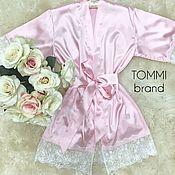 Одежда ручной работы. Ярмарка Мастеров - ручная работа Нежно-розовый комплект с кружевом шантильи. Handmade.