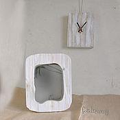 Для дома и интерьера handmade. Livemaster - original item Mirror table White wall interior decorative. Handmade.