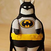 Куклы и игрушки handmade. Livemaster - original item Batman Cat. Handmade.