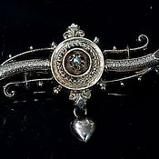 Винтаж handmade. Livemaster - original item Antique brooch with pearls. Handmade.