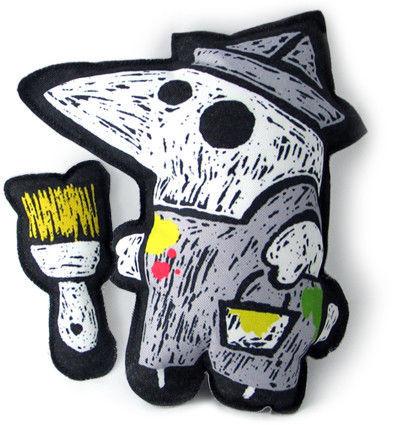 Animal Toys handmade. Livemaster - handmade. Buy Teen toy 'Crow-painter'.Original gift, bird, unusual gift