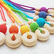 """Куклы и игрушки handmade. Livemaster - original item Слингокулончики (слингобусы) """"Все цвета радуги"""". Handmade."""