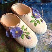 Обувь ручной работы. Ярмарка Мастеров - ручная работа Тапочки для девочки.. Handmade.