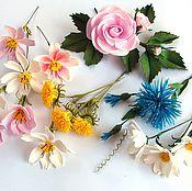 Цветы и флористика ручной работы. Ярмарка Мастеров - ручная работа Цветочное ассорти. Handmade.