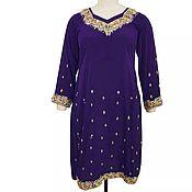 Одежда ручной работы. Ярмарка Мастеров - ручная работа Платье ручная вышивка. Handmade.